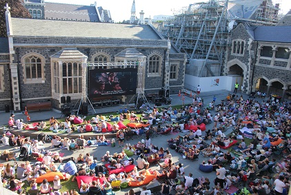 Leighs Outdoor Cinema