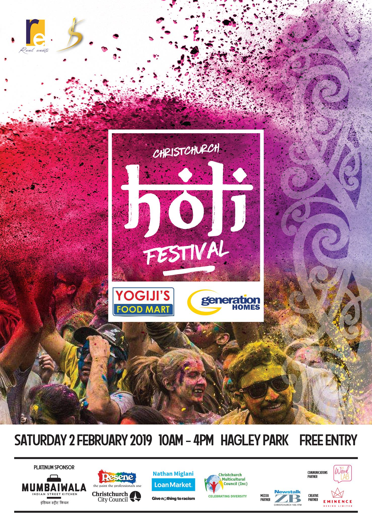 christchurch holi festival