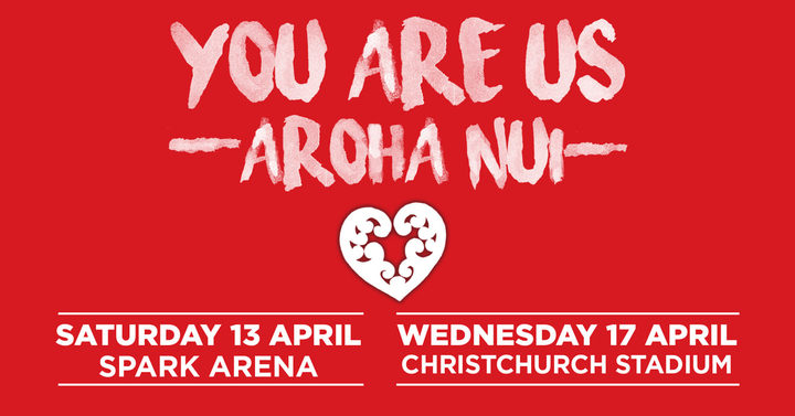 you are us concert christchurch