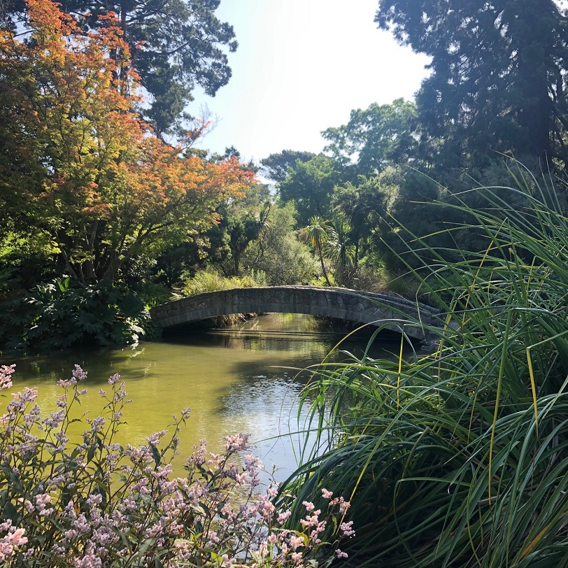 botanic gardens bridge christchurch
