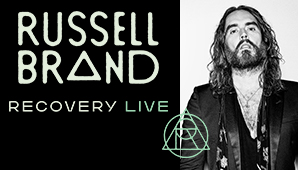 russell brand recovery tour
